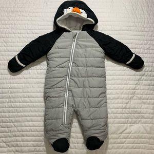 Penguin 3-6 Month Boy Snowsuit